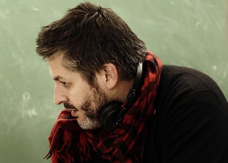 Christophe Honoré sul set del suo Les bien-aimés