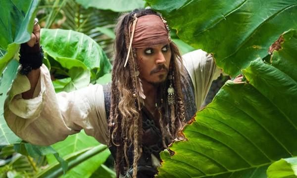 Johnny Depp, protagonista di Pirati dei Caraibi: Oltre i confini del mare