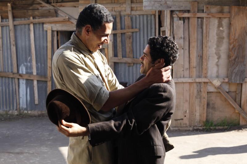 Roschdy Zem e Jamel Debbouze nel film Hors-la-loi