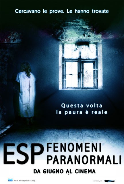 Teaser poster italiano 1 per ESP - Fenomeni paranormali