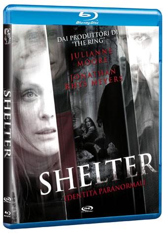 La copertina di Shelter - Identità paranormali (blu-ray)