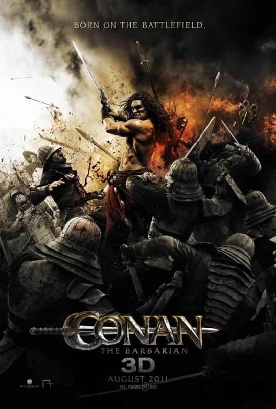 Nuova locandina di Conan the Barbarian