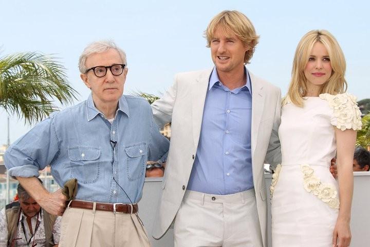 Cannes 2010: Owen Wilson e Rachel McAdams presentano Midnight in Paris con Woody Allen