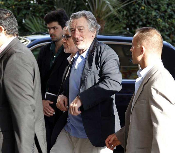 Festival di Cannes 2011: Robert De Niro, presidente della Giuria arriva sulla Croisette