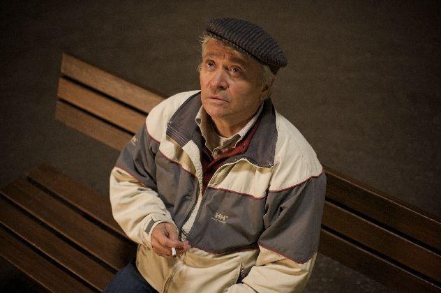 Henry Hübchen, protagonista del film Polnische Ostern