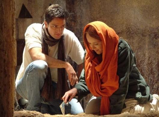 Marta Bifano e Luca Capuano nel film Il mercante di stoffe