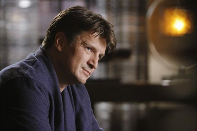 Nathan Fillion in una scena dell'episodio The Final Nail di Castle