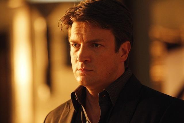 Nathan Fillion nell'episodio Knockout di Castle