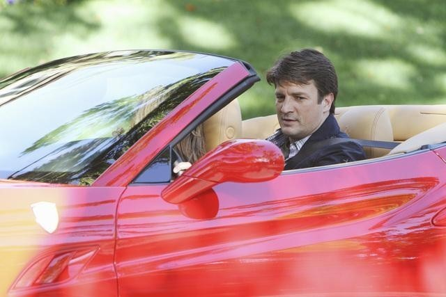Nathan Fillion nell'episodio To Love and Die in L.A. di Castle