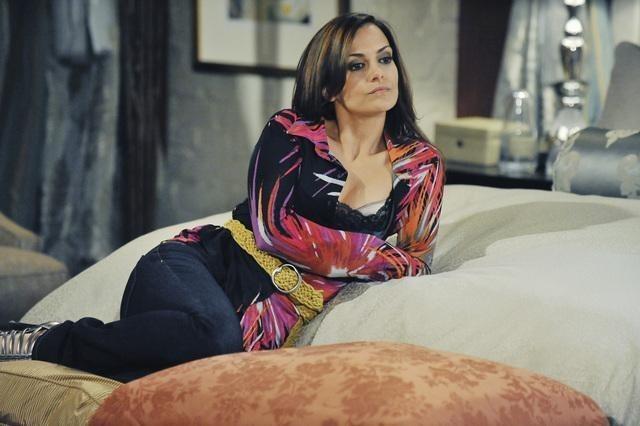 Rebecca Budig in una scena dell'episodio One Life to Lose di Castle
