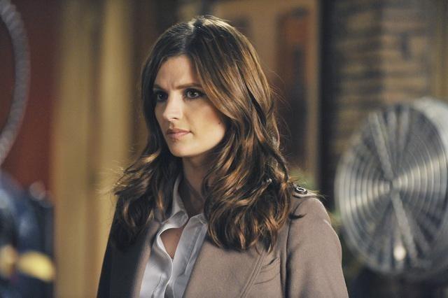 Stana Katic nell'episodio One Life to Lose di Castle