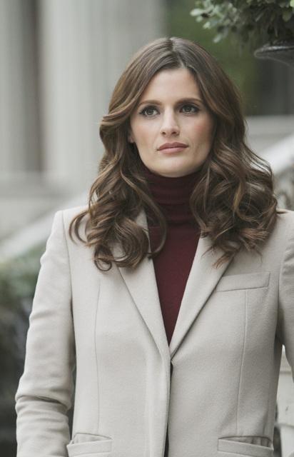 Stana Katic nell'episodio The Final Nail di Castle