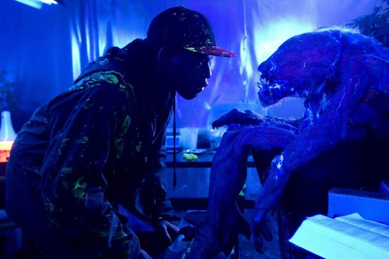John Boyega, protagonista del film Attack the Block