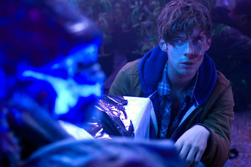 Luke Treadaway in una immagine del film Attack the Block