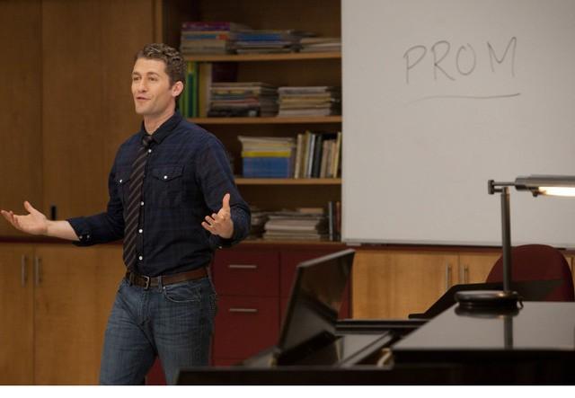 Matthew Morrison nell'episodio Prom Queen di Glee