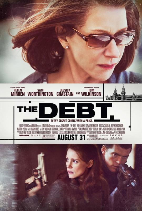 Nuova locandina di The Debt