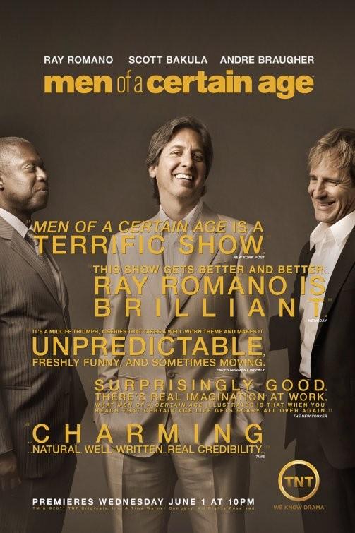 Un poster della stagione 2 di Men of a Certain Age
