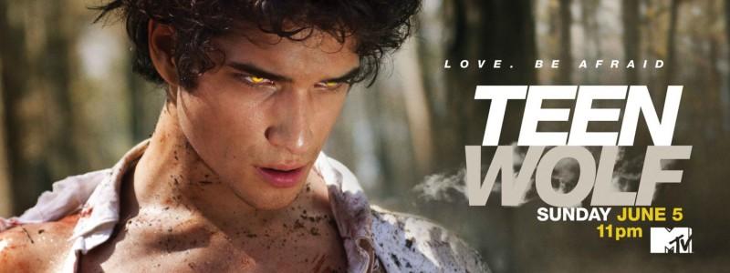 Un primo poster con sviluppo orizzontale della serie Teen Wolf