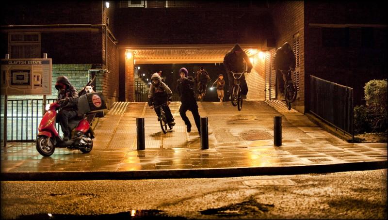 Una scena di Attack the Block