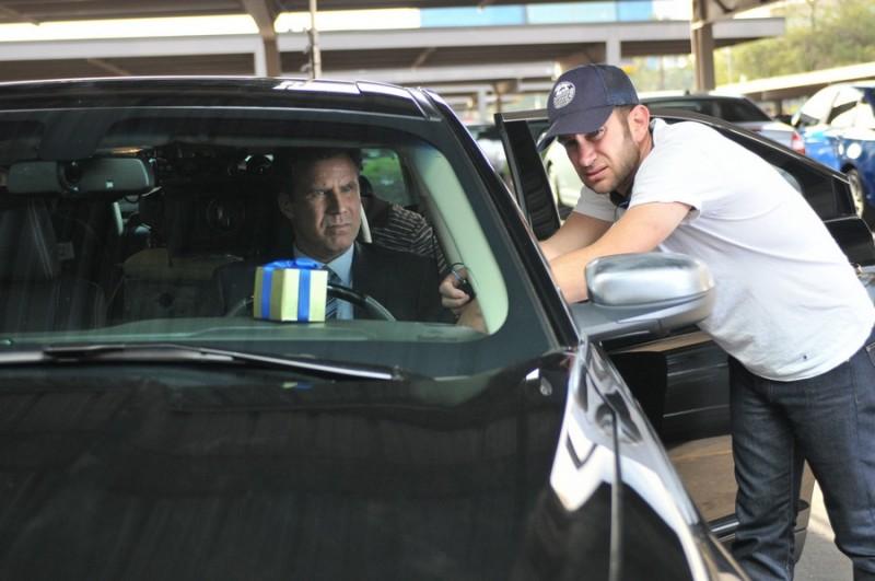 Will Ferrell con il regista Dan Rush sul set del film Everything Must Go