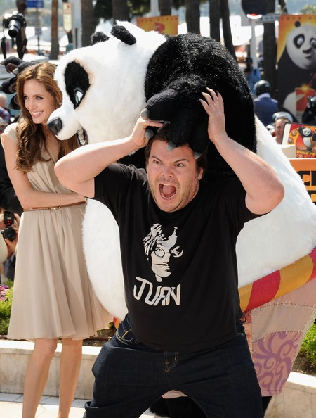 Cannes 2011: Angelina Jolie presenta Kung Fu Panda 2 con Jack Black