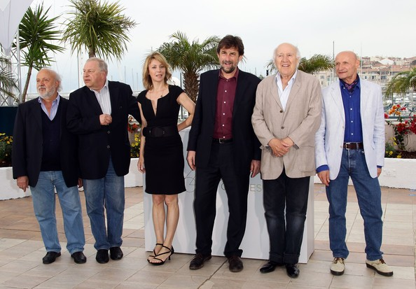 Cannes 2011: Nanni Moretti con il cast del suo Habemus Papam