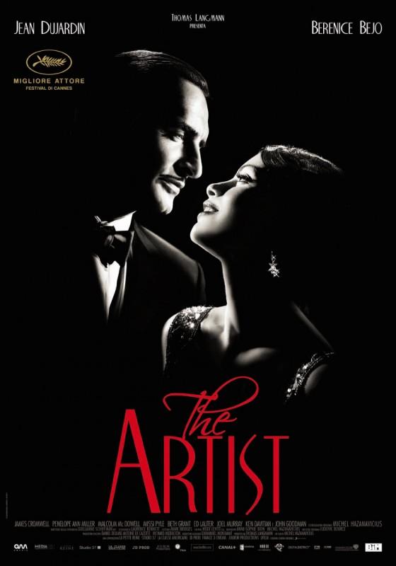 The Artist: la locandina italiana del film