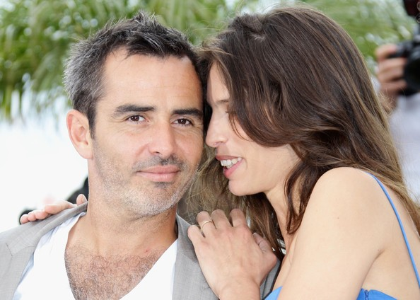 Maiwenn Le Besco presenta il suo Polisse a Cannes 2011 accanto a Arnaud Henriet