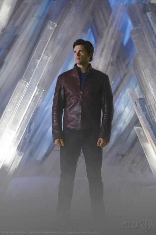 Clark (Tom Welling) in una sequenza dell'episodio Prophecy di Smallville