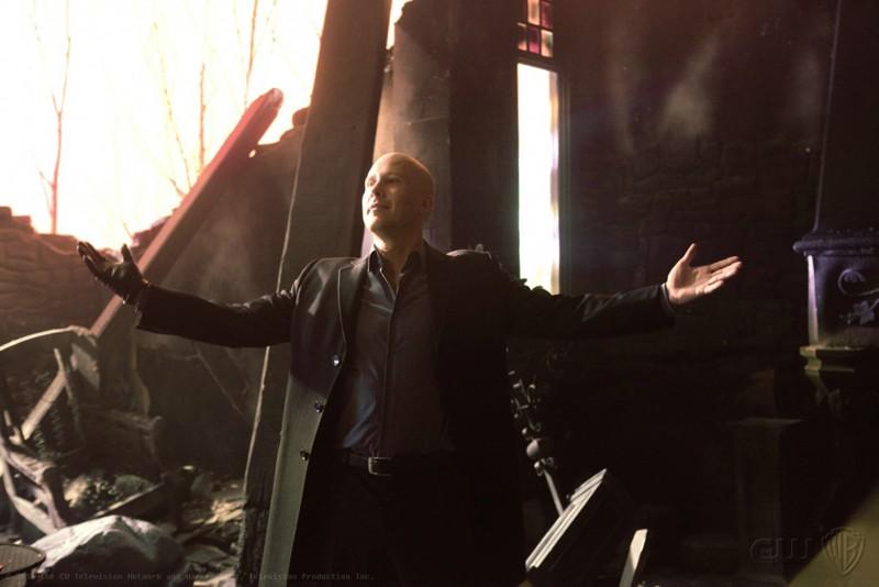 Il ritorno di Lex Luthor (Michael Rosenbaum) nell'episodio Finale di Smallville
