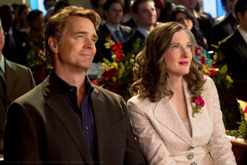 Jonathan (John Schneider) e Martha (Annette O'Toole) nell'episodio Finale di Smallville