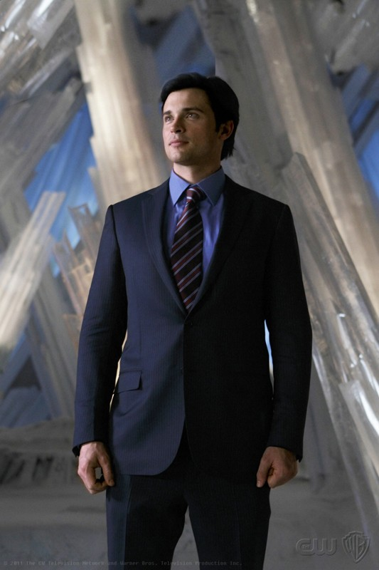 Tom Welling in un momento dell'episodio Prophecy di Smallville