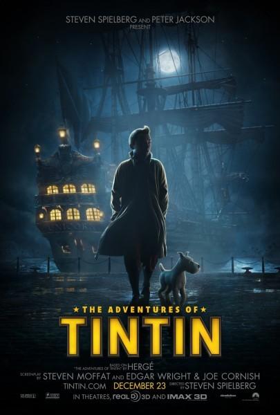 Locandina di Le Avventure di Tintin: il Segreto del Liocorno