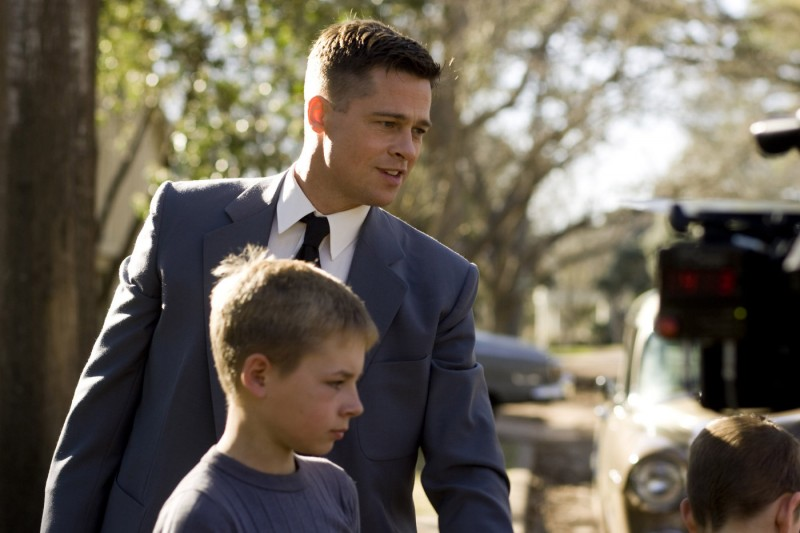 Brad Pitt è il protagonista di The Tree of Life di Terrence Malick (2011)