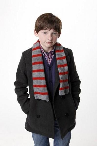 Jared Gilmore in una foto promozionale della serie 'Once Upon A Time'