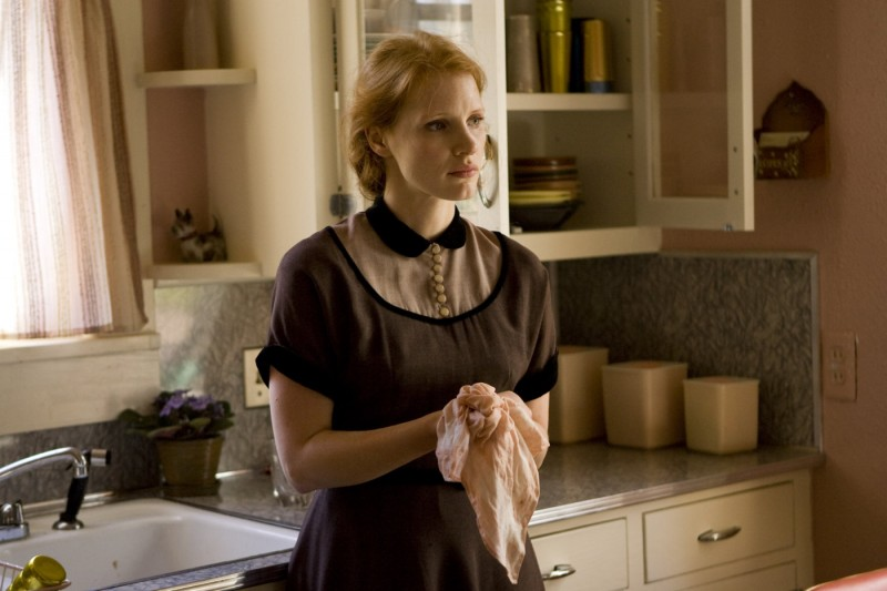 Jessica Chastain in una immagine di The Tree of Life (2011)