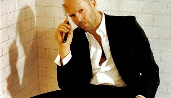 Jason Statham in una scena del film thriller Blitz