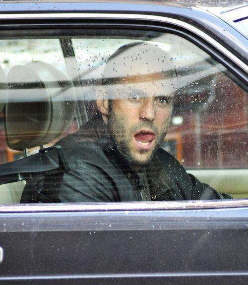 Jason Statham in una scena del thriller Blitz