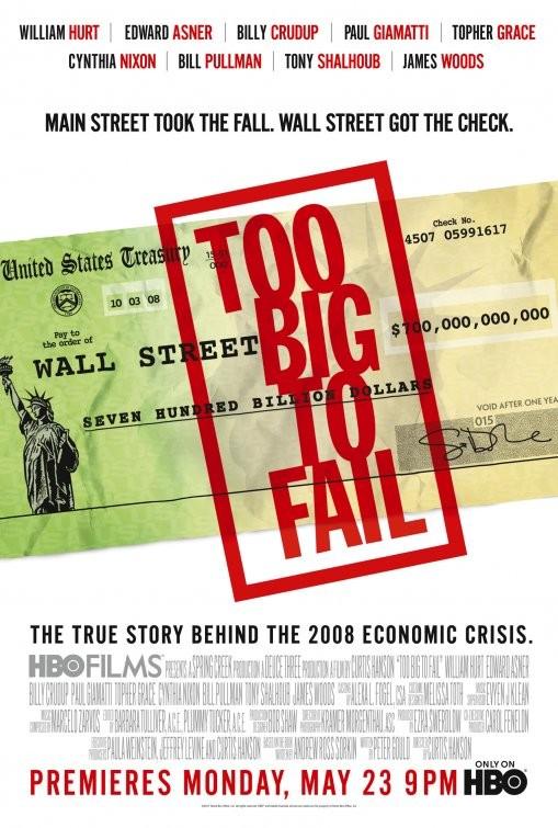 La locandina di Too Big to Fail