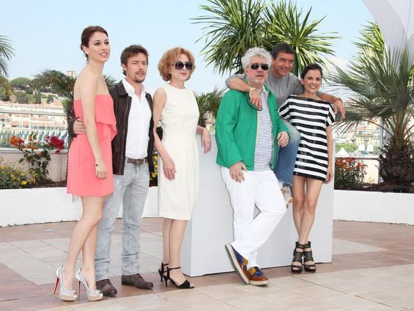 Cannes 2011: Bianca Suarez, Jan Cornet, Marisa Paredes, Antonio Banderas, Pedro Almodovar ed Elena Anaya presentano La piel que habito