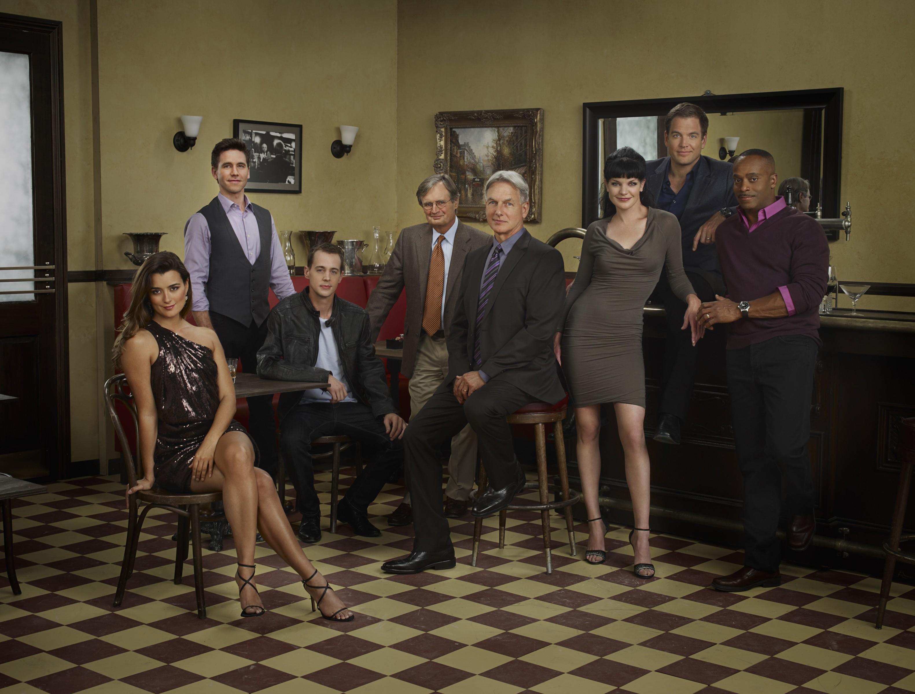 Wallpaper: il cast di NCIS in una foto promozionale per l'ottava stagione