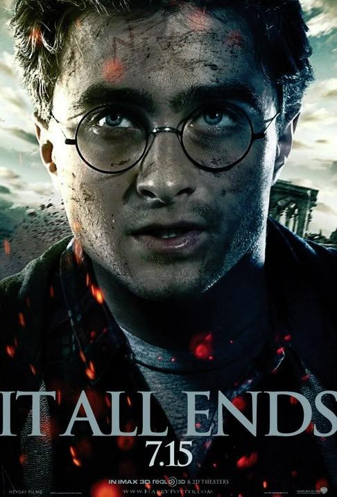 Nuova locandina per Harry Potter e i doni della morte - parte 2