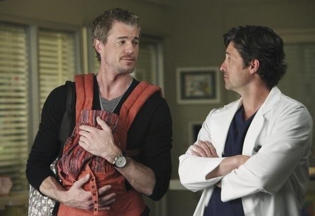 Patrick Dempsey ed Eric Dane nell'episodio I Will Survive di Grey's Anatomy