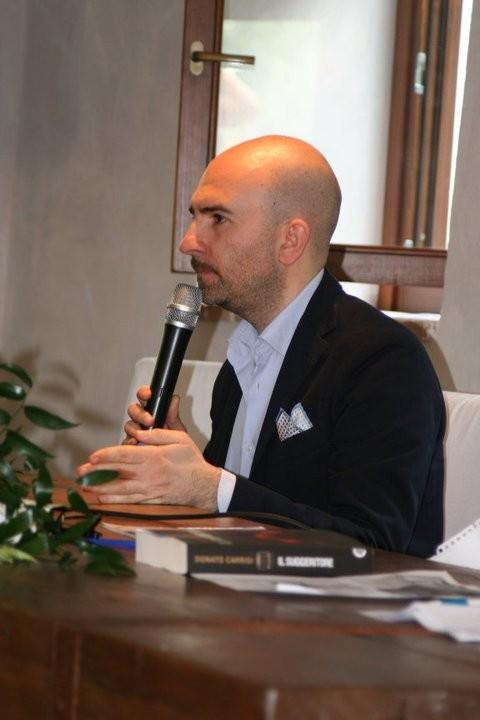 L\'Aquila volta la carta: Donato Carrisi (foto: Marta Zelioli)