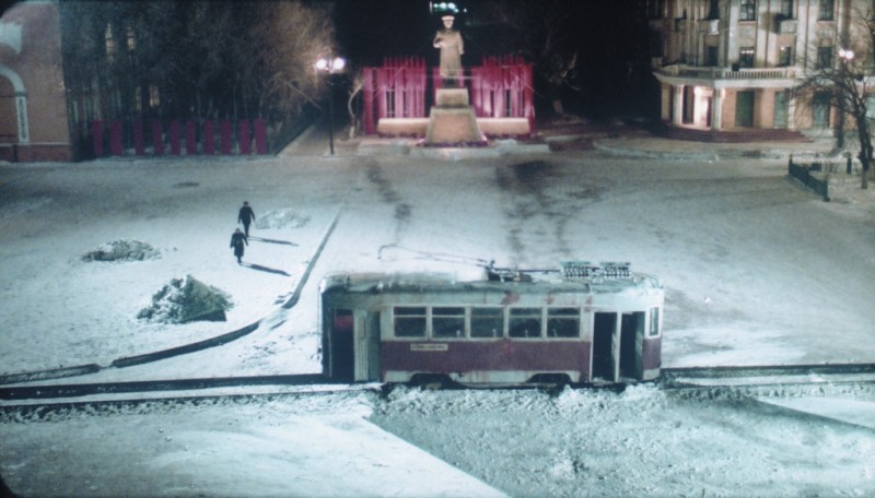 Una immagine dal film La polvere del tempo (I skoni tou hronou)