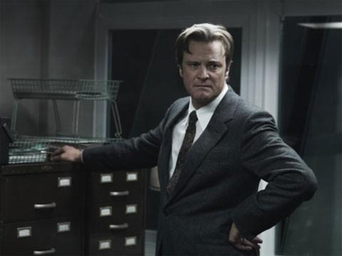 Colin Firth in un'immagine di Tinker, Tailor, Soldier, Spy