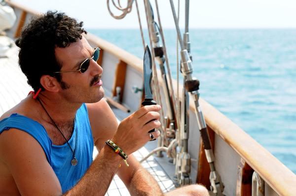 Paolo Mazzarelli in una scena del film Nauta