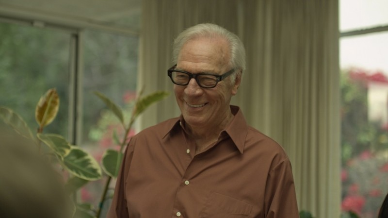 Christopher Plummer in una scena del film Beginners