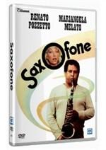 La copertina di Saxofone (dvd)