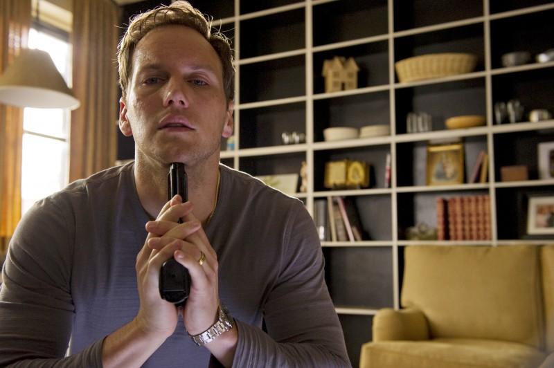 Patrick Wilson in una scena del film The Ledge